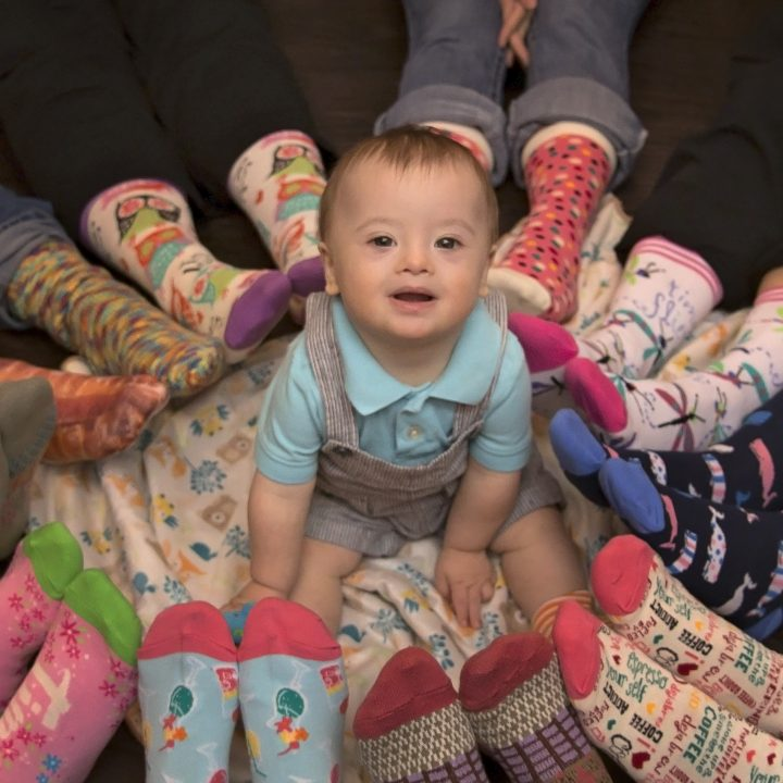 World Down Syndrome Day: Max and Lots of Socks