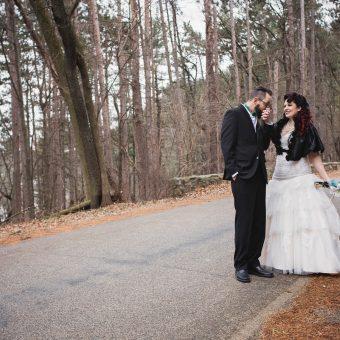 Winter Wedding in Baraboo, Wisconsin