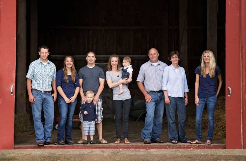 Family Photos:  A day on the Farm