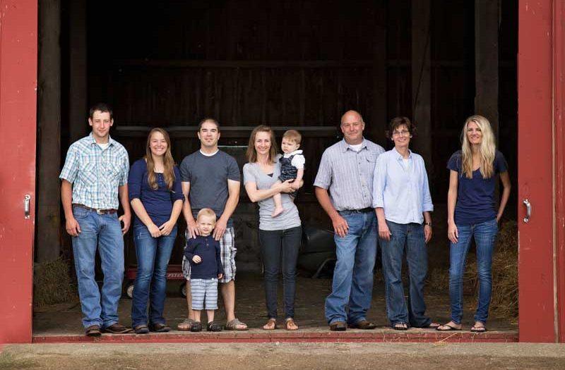 Family Photos:  A day on the Farm